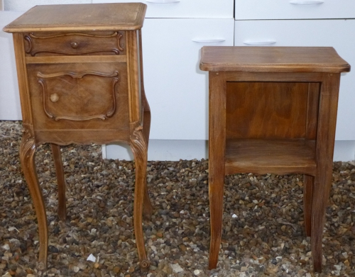 tables de chevet, restoration