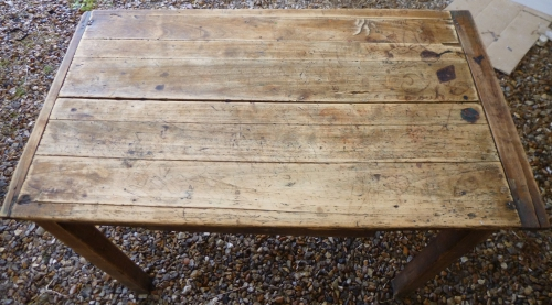table, restoration